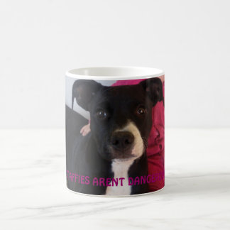 STAFFIES ARENT DANGEROUS BASIC WHITE MUG
