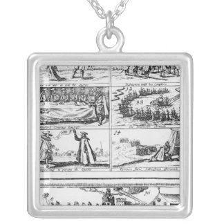 Stafford Clearing Himself, the Invincible Silver Plated Necklace