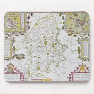 Stafford County and Town, engraved by Jodocus Mouse Pad