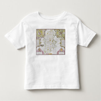 Stafford County and Town, engraved by Jodocus T-shirts
