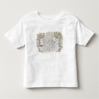 Stafford County and Town, engraved by Jodocus Toddler T-Shirt