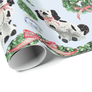 Staffordshire & Boxwoods by Redux121DesignStudio Wrapping Paper
