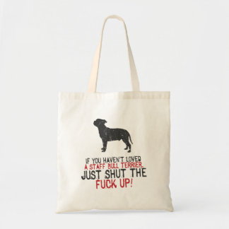 Staffordshire Bull Terrier Budget Tote Bag