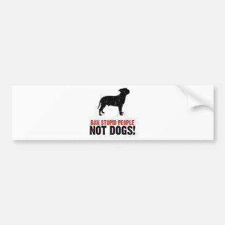 Staffordshire Bull Terrier Bumper Sticker