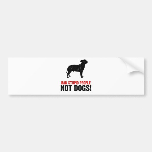 Staffordshire Bull Terrier Bumper Stickers