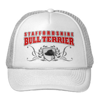 Staffordshire Bull Terrier COA red text Cap