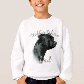 Staffordshire Bull Terrier Dad 2 Sweatshirt