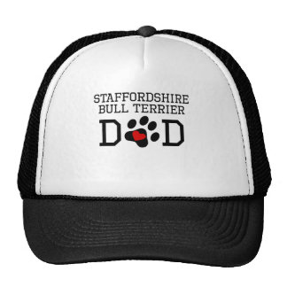 Staffordshire Bull Terrier Dad Mesh Hats