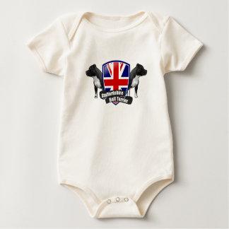 Staffordshire Bull Terrier ENGLAND Baby Bodysuit