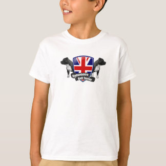 Staffordshire Bull Terrier ENGLAND T-Shirt