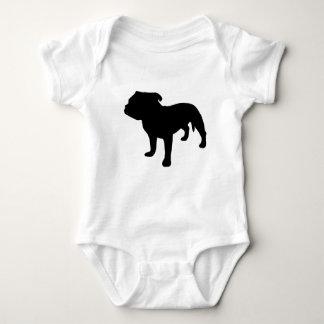 Staffordshire Bull Terrier Gear Baby Bodysuit