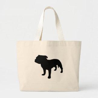 Staffordshire Bull Terrier Gear Jumbo Tote Bag