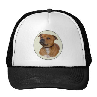 Staffordshire Bull Terrier Gifts Trucker Hats