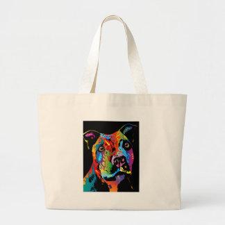 Staffordshire Bull Terrier Jumbo Tote Bag