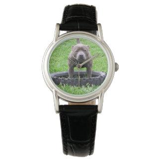 Staffordshire_Bull_Terrier_Ladies_Black_Watch Watch