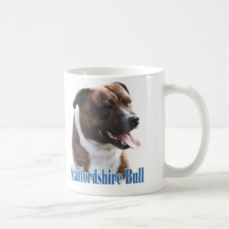 Staffordshire Bull Terrier Name Coffee Mug