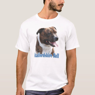Staffordshire Bull Terrier Name T-Shirt