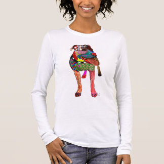 Staffordshire Bull Terrier - Patchwork Long Sleeve T-Shirt