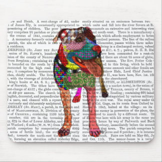 Staffordshire Bull Terrier - Patchwork Mouse Pad