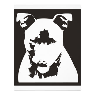 Staffordshire Bull Terrier Personalized Flyer