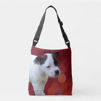 Staffordshire Bull Terrier Puppy Crossbody Bag