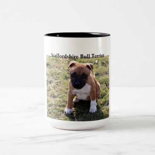 Staffordshire Bull-Terrier Puppy Mug Coffee Mug