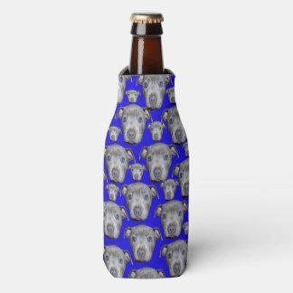 Staffordshire Bull Terrier Puppy Pattern, Bottle Cooler