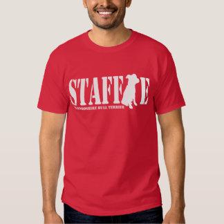 Staffordshire Bull Terrier - Puppy Shirt / White