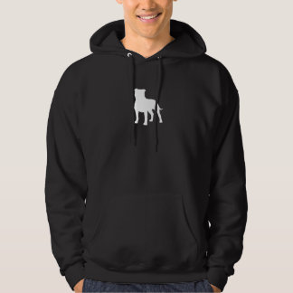 Staffordshire Bull Terrier Silhouette Hoodie