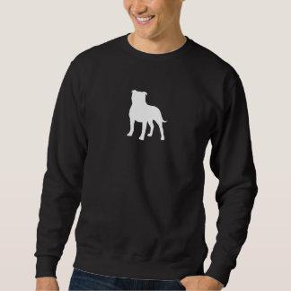 Staffordshire Bull Terrier Silhouette Sweatshirt