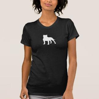 Staffordshire Bull Terrier Silhouette T-Shirt