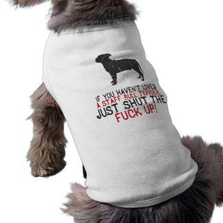 Staffordshire Bull Terrier Sleeveless Dog Shirt