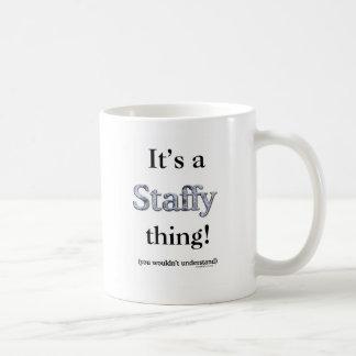 Staffordshire Bull Terrier Thing Coffee Mug