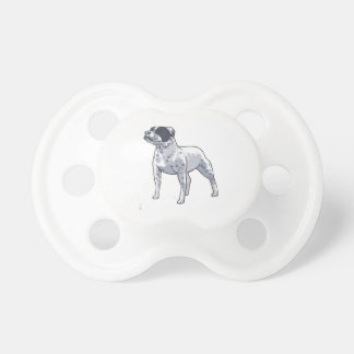 STAFFORDSHIRE DOG BooginHead PACIFIER
