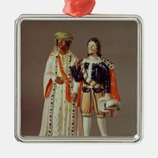 Staffordshire figure of Othello and Iago, c.1858 Christmas Ornament