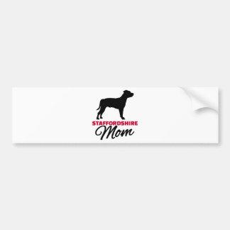 Staffordshire Mom Bumper Sticker