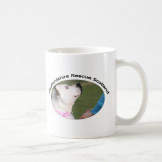 Staffordshire Rescue Scotland Basic White Mug