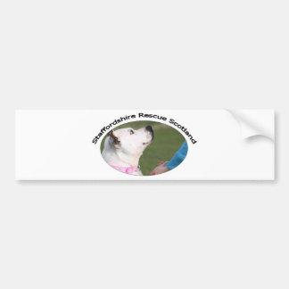 Staffordshire Rescue Scotland Bumper Sticker