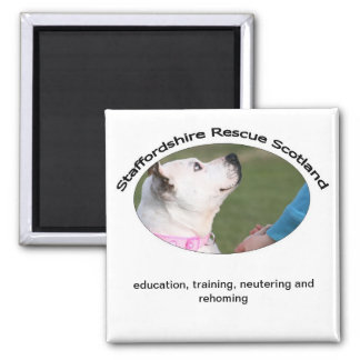 Staffordshire Rescue Scotland Magnet