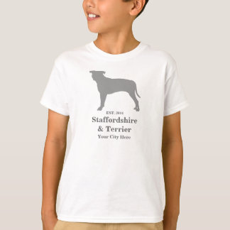 Staffordshire & Terrier Toddler TShirt - Customize