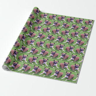 Staffordshire Terrier Wrapping Paper