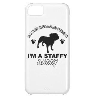 STAFFY dog daddy designs iPhone 5C Covers