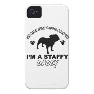 STAFFY dog daddy designs Case-Mate iPhone 4 Case
