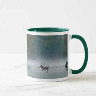 Stag-and-ponies mug