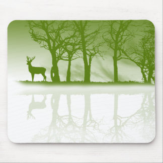 Stag At Dusk Mouse Pad