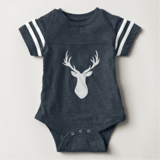 Stag Baby All In One Baby Bodysuit