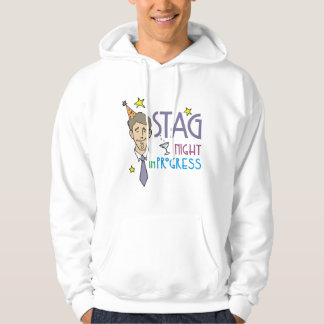 Stag Bachelor party Hoodie