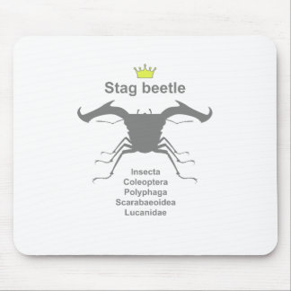 Stag beetle4 g5 mouse pad
