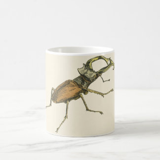 Stag Beetle Coffee Mug