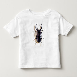 """""""Stag beetle"""" Insect Watercolor Art Toddler T-Shirt"""
